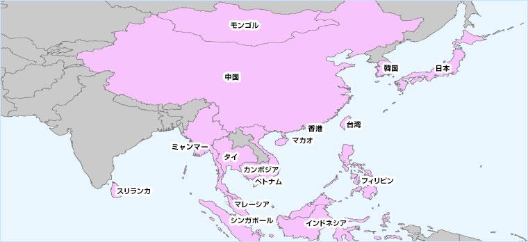 ヨーロッパ周遊 利用可能国マップ アジア周遊で使える海外用Wi-Fiのレンタル 【海外携帯続々レ