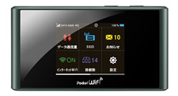 (画像)WiFiルーター画像:SoftBank Pocket WiFi 303ZT